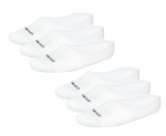 HEAD 6er Pack UNISEX Füßlinge, Sneakersocken Socken 771001001 300 white weiss Gr. 35 - 46 S17-HDS1