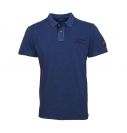Tom Tailor Polohemd Poloshirt Overdyed Polo 1531009 9910 6012 navy S17-TTP1