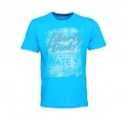 Tom Tailor Shirt T-Shirt Tee New Print Technique 1037704 0010 6633 hellblau S17-TTT1