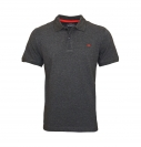 Tom Tailor Polohemd Poloshirt Basic Polo 1531007 0010 2815 anthrazit S17-TTP1