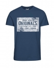 Jack & Jones JORTRAFFIC TEE SS CN APRIL 12128300 Ensign Blue S17-JJTZ1