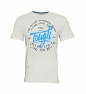 Tom Tailor Shirt T-Shirt Printed Shirt 1038453 0010 2063 weiss S17-TTPST1