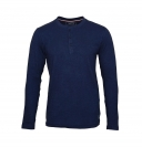 Tom Tailor Shirt Longsleeve Henley 1055212 0012 6740 navy S17-TTLS1