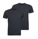 Emporio Armani 2er Pack T-Shirts Rundhals 111267 7A717 19044 FUMO/FUMO SH17-EA2PT
