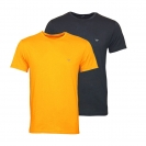 Emporio Armani 2er Pack T-Shirts Rundhals 111267 7A722 19144 FUMO/ZUCCA SH17-EA2PT