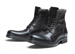 Jack & Jones Schuhe Lederschuhe JFWMARLY LEATHER BISON SH17-JJS1