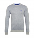 GUESS Pullover Longsleeve Rundhals Reversible U74R00Z1 10D0 FT78 BLUE/GREY HW17-GL1