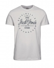 Jack&Jones T-Shirt JORBINGO TEE 12136207 Cloud Dancer W18-JJT1