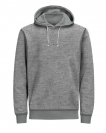 Jack & Jones Sweater JORTAKE SWEAT HOOD 12139359 Light Grey Melange W18-JJS1