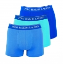 Ralph Lauren 3er Pack Trunks Shorts Spring1UDW Blau SAPPHIRE/BLUE/AQUA W18-US1
