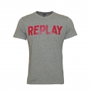 Replay T-Shirt Rundhals M3361 000 2660 M14 grau W18-RYT1