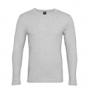 G-Star RAW Longsleeve Slim Fit Rundhals D07204-124-906 Grey Htr F18-GSL1
