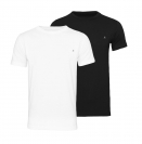 Replay 2er Pack T-Shirts Rundhals M3588 22602 040 black, white S18-RPT1