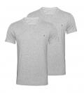 Replay 2er Pack T-Shirts V-Ausschnitt M3589 22602 030 GREY MELANGE S18-RPT1