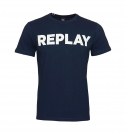 Replay T-Shirt Shirt Rundhals M3594.000 2660.576 MIDNIGHT BLUE S18-RPT3