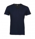 Replay T-Shirt Shirt V-Ausschnitt M3591.000 2660.576 MIDNIGHT BLUE S18-RPT4