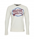 Petrol Industries Longsleeve Shirt MFW18SP TLR206 0009 Antigue White Melee SH18-PIL1