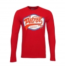 Petrol Industries Longsleeve Shirt MFW18SP TLR206 3051 Biking Red SH18-PIL1