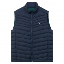 Gant Weste Daunenweste O1. THE AIRLIGHT DOWN VEST 7002515 NAVY SH18-GW1