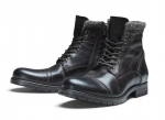 Jack & Jones Schuhe Boots Winterschuhe JFWMARLY LEATHER BISON 12125323 SH18-JJB1