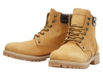 Jack & Jones Schuhe Boots Winterschuhe JFWSTOKE BOOT NUBUCK HONEY 12142357 SH18-JJB1