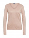 Tom Tailor Damen Basic Sweater V-Ausschnitt 3055423.09.70 5845 rose smoke melange SH18-TTS1