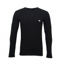 Emporio Armani Longsleeve Rundhals Shirt 111023 8A512 00020 NERO WX18-EAL