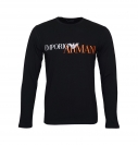 Emporio Armani Longsleeve Rundhals Shirt 111653 8A516 00020 NERO WX18-EAL