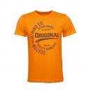 Tom Tailor T-Shirt mit Motiv 1008171.xx.12 11297 orange W19-TTS1