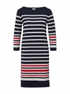 Tom Tailor Damen Kleid Casual Stripe Dress 1008070.xx.70 10668 sky captain blue W19-TTDK1