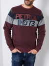 Petrol Industries Sweater R-Neck M-3090-SWR309 3093 Burgundy SH19-PIS3