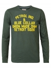 Petrol Industries Longsleeve R-Neck M-3090-TLR603 6120 Worker Green SH19-PIL1