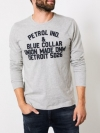 Petrol Industries Longsleeve R-Neck M-3090-TLR603 9038 Light Grey Melee SH19-PIL1