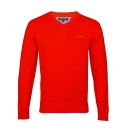 Pierre Cardin Pullover V-Neck PRW0140 red SH19-PC1