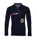 Geographical Norway Longsleeve Polo KOLIDAY Navy SH19-GN1