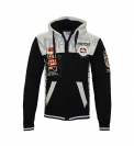 Geographical Norway Sweater Zipper Hoodie GEDAY WR529H Black HW19-GNG
