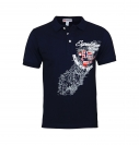 Geographical Norway Poloshirt Kartifice JMS 100 Navy FS20-GN1