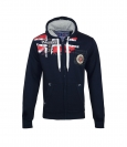 Geographical Norway FESPOTE Sweatjacke Hooded Zip Jacket Navy W20-GNF