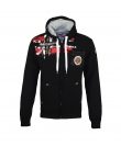 Geographical Norway FESPOTE Sweatjacke Hooded Zip Jacket Black W20-GNF