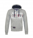 Geographical Norway GAICOR Sweatjacke Hooded Zip Jacket B-Gray W20-GNG