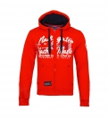 Geographical Norway GAICOR Sweatjacke Hooded Zip Jacket Red W20-GNG