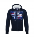 Geographical Norway GETCHUP Sweatjacke Hooded Zip Jacket Navy W20-GNC
