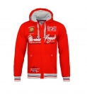 Geographical Norway GIPAWA Sweatjacke Hooded Zip Jacket Red W20-GNP