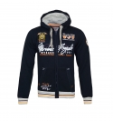 Geographical Norway GIPAWA Sweatjacke Hooded Zip Jacket Navy W20-GNP