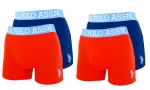 U.S. Polo ASSN. 4er Pack Boxershorts 59839 51948 575 navy, red W20-USB2